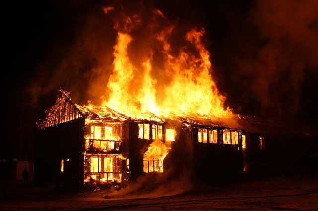incendio casa